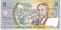 SAMOA 2 TALA 1990 PICK 31k AAK POLYMER UNC - Samoa