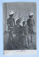 C. P. A. : Afrique Du Sud : Young Zulus At Play, In 1908 - South Africa