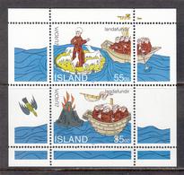 Iceland MNH Michel Nr Block 15 From 1994 / Catw 3.00 EUR CEPT - Blokken & Velletjes