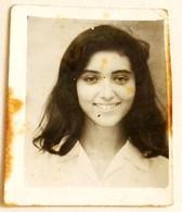 Vieille Photo, Old Photograph, Fotografía Antigua / Portrait D'une Jeune Femme, Portrait Of A Young Woman - Personas Anónimos