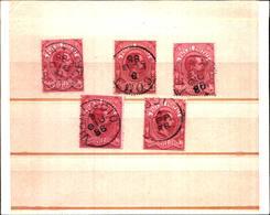 6647B) ITALIA - 50C. Effigie Di Umberto I - Pacchi Postali - 1884- USATO UN PEZZO - 1900-44 Victor Emmanuel III