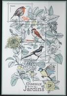 Bloc F5239 Oiseaux De Nos Jardins - Sheetlets