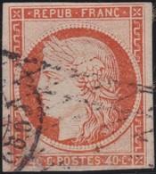 France  .   Yvert   .     5  (2 Scans)       .        O          .        Oblitéré - 1849-1850 Cérès