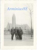 La France Occupée - Jura - Tavaux, Décembre 1941 - Église Sainte-Anne - Wehrmacht - War, Military