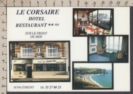 103230GF/ ETRETAT, Hôtel-Restaurant *Le Corsaire* - Etretat