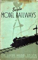Catalogue LEEDS MODEL CO LMC 1936 O Gauge Railway Model Parts & Components Defekt - Boeken En Tijdschriften