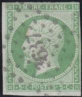 France  .   Yvert   .     12     .        O          .        Oblitéré - 1853-1860 Napoleon III