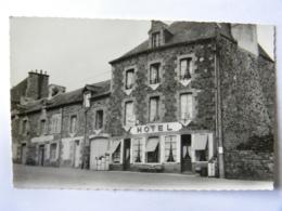 CPSM (35) Ille Et Vilaine - BECHEREL - Hôtel Du Commerce - Bécherel