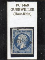 Haut-Rhin - N° 14A Obl PC 1460 Guebwiller - 1853-1860 Napoléon III