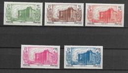 ININI 1939  N° 31 à 35  N* Charnière - Inini (1932-1947)