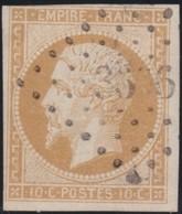 France  .   Yvert   .     13     .        O          .        Oblitéré - 1853-1860 Napoléon III