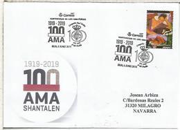 IRUN GUIPUZCOA CC CON  MAT COMPARSA AMA SHANTALEN 100 AÑOS - 1931-Hoy: 2ª República - ... Juan Carlos I