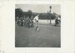 Photo Originale De Prisonniers Allemands Prise à La Libération De Paris 25/08/1944 - War, Military