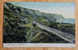 Folkestone - The Warren - Voie Ferrée / Railway - Colorisée / Colorized - (n°15951) - Folkestone