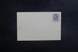 SUÈDE - Entier Postal Surchargé Non Circulé - L 39599 - Postal Stationery