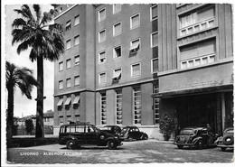 Livorno - Albergo Astoria. Auto, Car, Voitures. - Livorno