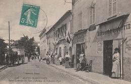 06 Saint Laurent Du Var. L'Avenue De L'Ancien Pont - Saint-Laurent-du-Var