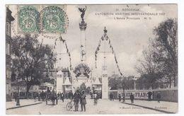 31 BORDEAUX EXPOSITION MARITUME INTERNATIONALE 1907 L'entrée Principale - Bordeaux