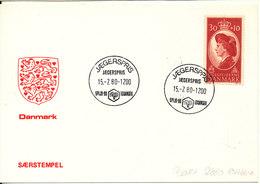 Denmark Card Scout Scouting Jaegerspris 15-7-1980 Spejd 80 Denmark - Covers & Documents