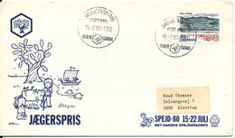 Denmark Cover Scout Scouting Jaegerspris 15-7-1980 Spejd 80 Denmark - Covers & Documents