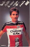 AMADIO Roberto ITA (Portogruaro (Veneto), 10-7-'63) 1989 Chateau D'Ax - Ciclismo