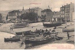 FR66 BANYULS SUR MER - Labouche 51 - La Plage - Barques De Pêche Et Pêcheurs - Animée - Belle - Banyuls Sur Mer