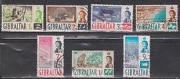 GIBRALTAR Scott # 148//56 Used - QEII & Various Scenes - Not Full Set - Gibraltar
