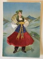 COSTUME  REGIONALE  PIEMONTE - NV -FG - Costumi