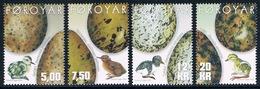 Féroé - Oeufs D'oiseaux Et Oisillons 423/426 (année 2002) ** - Oiseaux