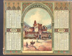 Calendrier 1929, Hautes Pyrénées, Luz Saint Sauveur - Calendari