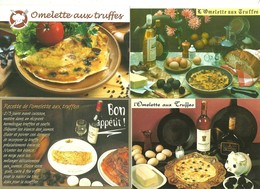 10 Cartes Recette Omelette Aux Truffes Truffe Champignon Tartufo Recettes Cuisine Gastronomie - Küchenrezepte