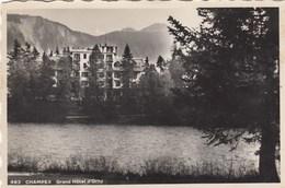 SWITZERLAND-SCHWEIZ-SUISSE-SVIZZERA- CHAMPEX-GRAND HOTEL=D'ORNY=CARTOLINA VERA FOTO-VIAGGIATA IL 4-8-1948 - VS Valais