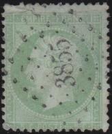 France  .   Yvert   .     20   .        O          .        Oblitéré - 1862 Napoleon III