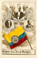 Colombia - Recuerdo De La Jura De Bandera - Patriotismo - Presidente De La Republica - Circa 1930 - Guerra Colombia Peru - Colombia