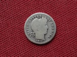 ETATS UNIS Monnaie De One Dime 1913 - Émissions Fédérales