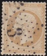 France  .   Yvert   .     21   .        O          .        Oblitéré - 1862 Napoleon III