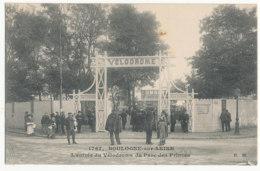 Boulogne Sur Seine - L'entrée Du Véodrome Du Parc Des Princes - Ed E.M. - Boulogne Billancourt