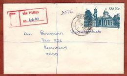 Einschreiben Reco, Rathaus Bloemfontein, Van Zylsrus Ueber Kimberley Nach Kroonstad 1983 (77854) - Südafrika (1961-...)