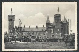 +++ CPA - TORHOUT - Wijnendale - Volksfeesten Op Het Gedeeltelijk Herstelde Slot Der Graven Van Vlaanderen  // - Torhout