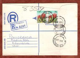 Einschreiben Reco, Protea, Warden Ueber Harrismith Nach Kroonstad 1983 (77855) - Südafrika (1961-...)