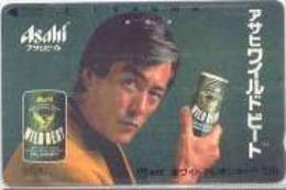 110 : 011  BEER Thematic  ASAHI   USED - Japon