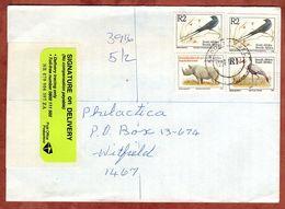 Einschreiben Reco?, Stahlschwalbe U.a., Kroonstad Nach Witfield 1998 (77858) - Lettres & Documents