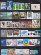 Estonia, Latvia, Lithuania 92 Used Stamps - Sellos