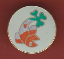 59574- Pin's.poisson.trefle.a Identifier. - Animaux