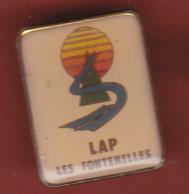 59575- Pin's.LAP.Les Fontenelles - Villes