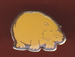 59584- Pin's.Hippopotame.. - Animaux