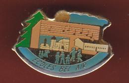 59588- Pin's. LA FOUILLOUSE.L'école Bel Air - Villes