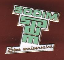 59595- Pin's.Société Sodim .Saint Jean De Braye. - Villes