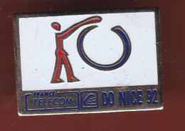 59599- Pin's.France Telecom.Orange.Nice.. - France Telecom