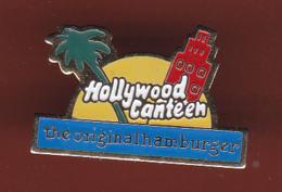 59600- Pin's.Hollywood Canteen.the Original Hamburger. - McDonald's